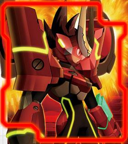 Ryuusei no Rockman 3 Red Joker