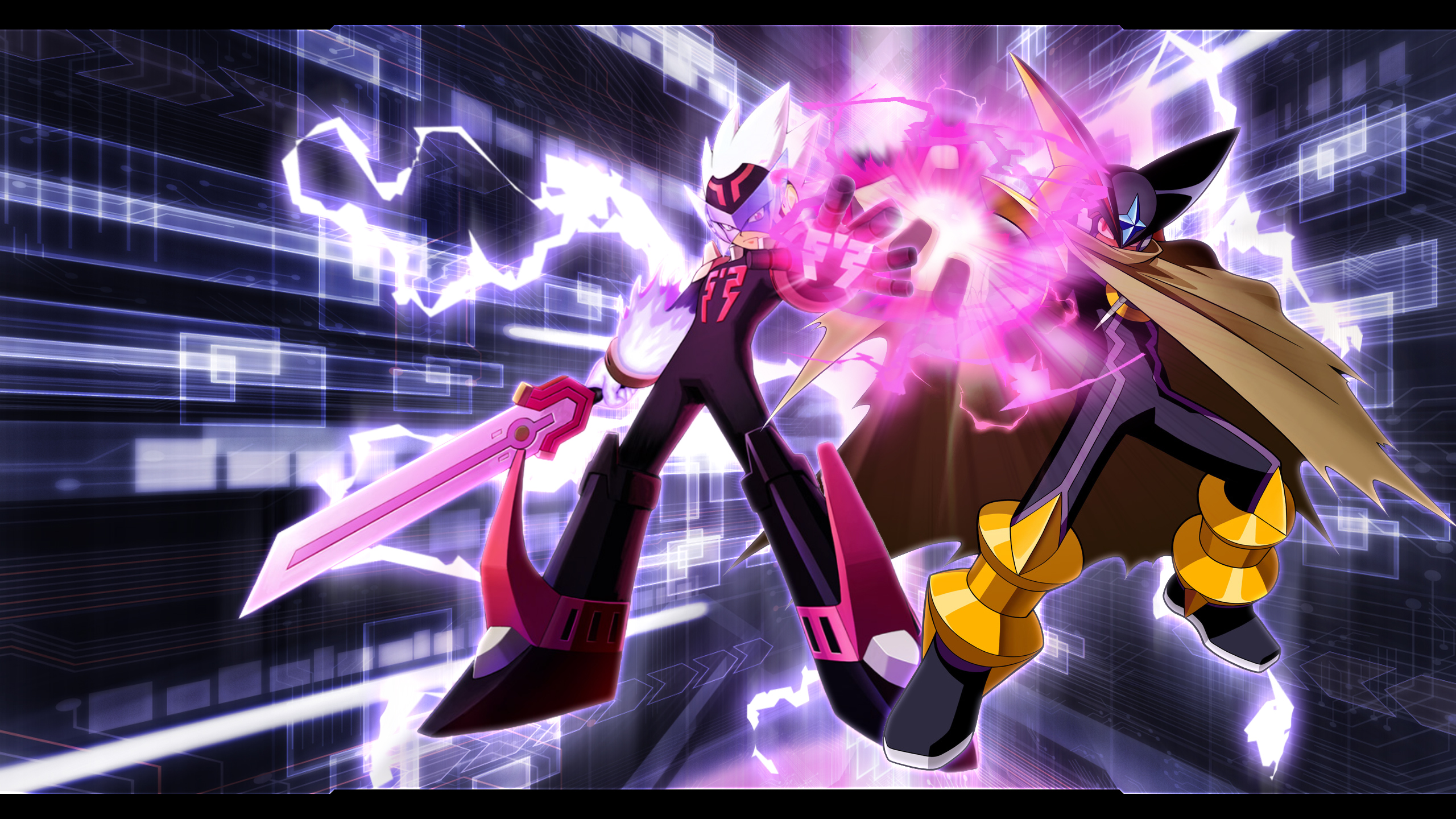 Wallpapers – The Rockman EXE Zone